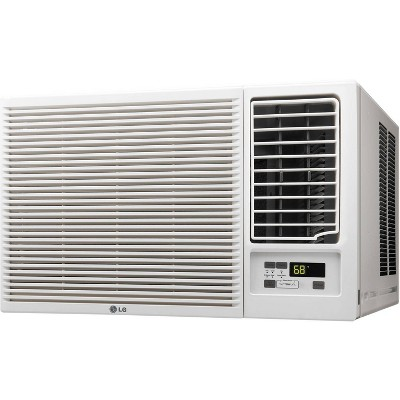 LG Electronics 23 000 BTU 230V Window Mounted Air Conditioner LW2416HR with 11,600 BTU Supplemental Heat Function