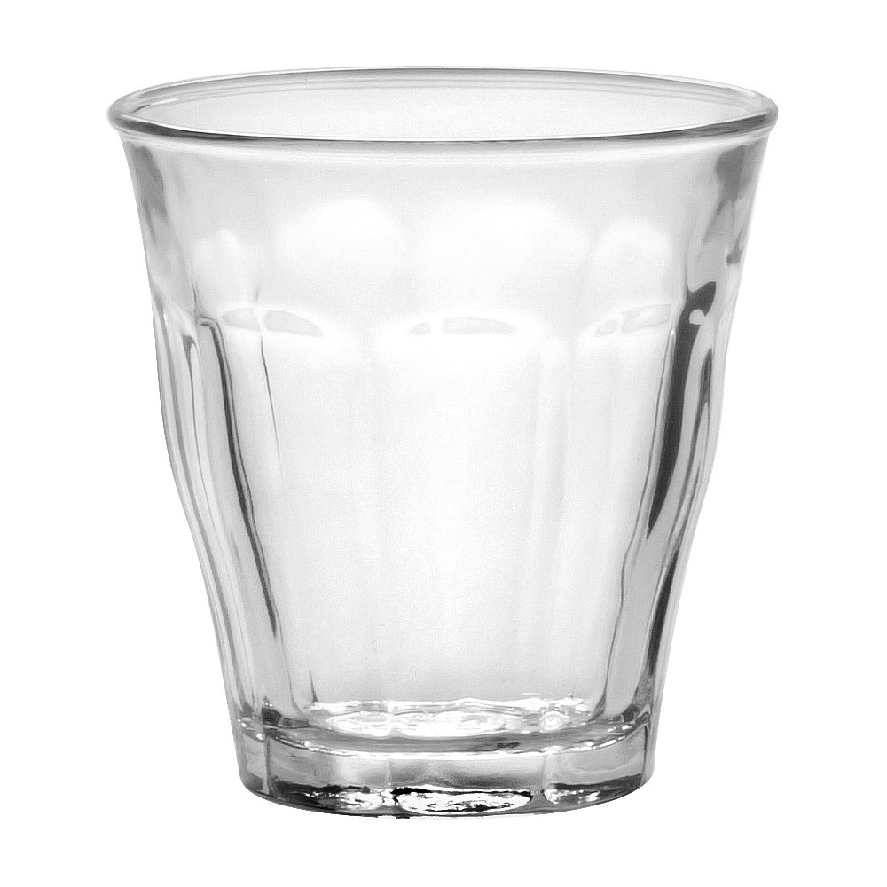 Image of Duralex - Picardie 3 1/8 oz Glass Set of 6, Clear