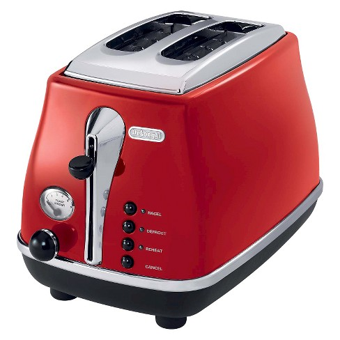 Delonghi 2-Slice Toaster - Red - image 1 of 2