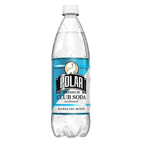 Polar Club Soda - 1 L Bottle - image 1 of 1