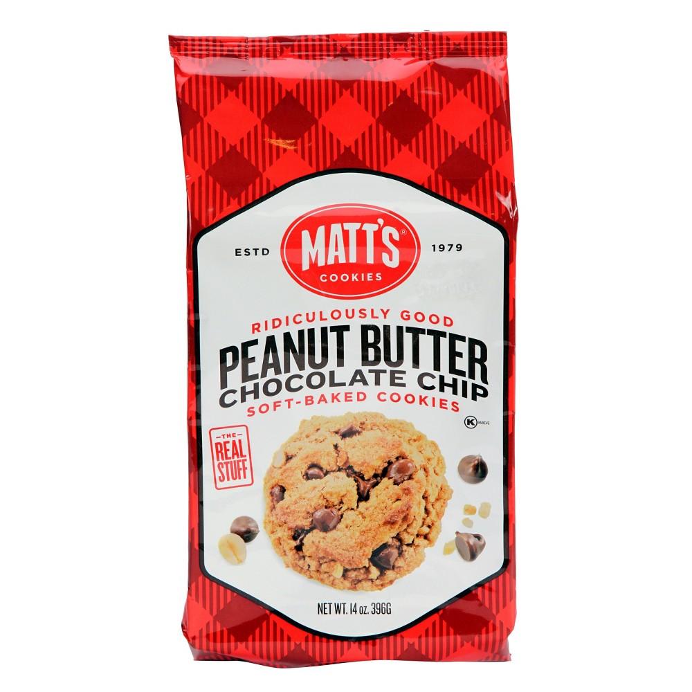 Matt's Peanut Butter Chocolate Chip Soft-Baked Cookies - 14oz