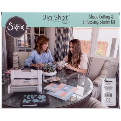 Sizzix Big Shot Plus Starter Kit (US Version)-White W/Gray