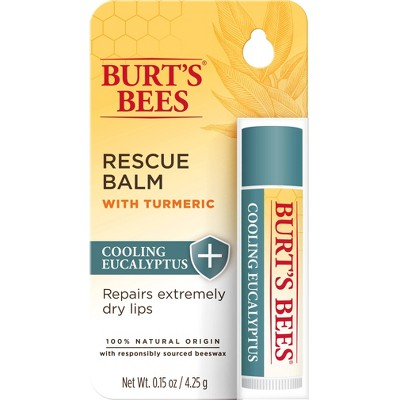Burt's Bees Lip Balm Rescue Cooling Blister - 0.15oz