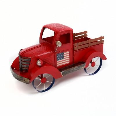 "GIL 19.2""L Metal Antique Americana Truck"