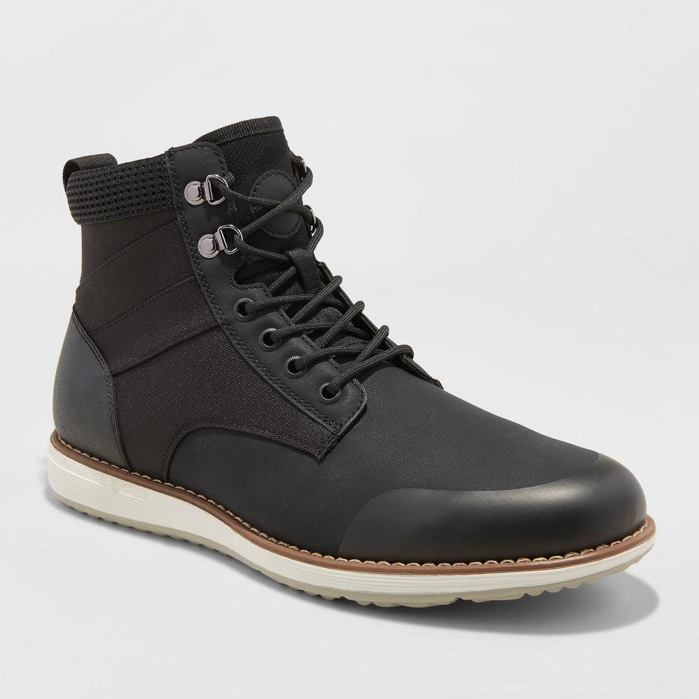Men's Phil Casual Fashion Boots - Goodfellow & Co Black 13