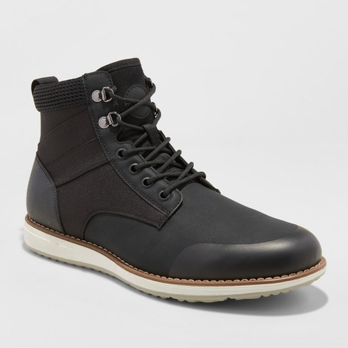 Men's Phil Casual Fashion Boots - Goodfellow & Co™ Black - image 1 of 4