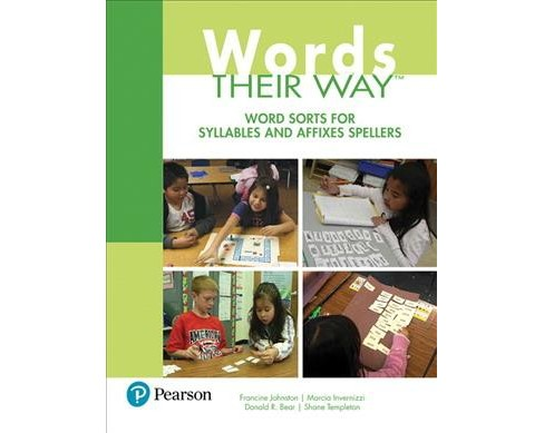 Word Sorts for Syllables and Affixes Spellers -  (Paperback) - image 1 of 1
