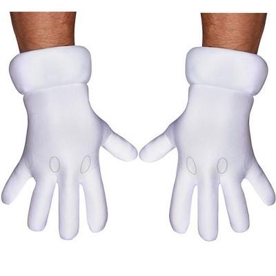 Super Mario Super Mario Brothers Adult Gloves