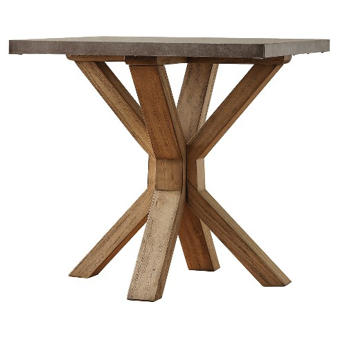 Westbrook Zinc Topped End Table - Inspire Q - image 1 of 7