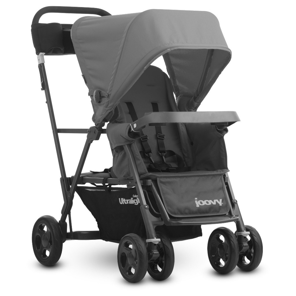 Image of Joovy Caboose Full-size Stroller Ultralight Graphite - Gray
