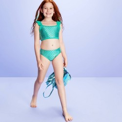 Girls' Swim Towards The Rainbow Bikini - More Than Magic™ Aqua