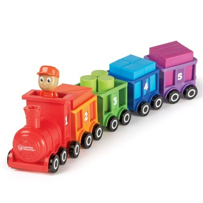 Learning Resources Count & Color Choo Choo, Interactive Train Learning Toy, 21 Pieces, Ages 2+