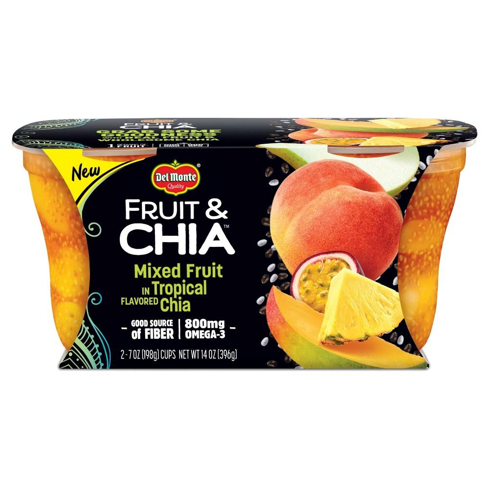 Delmonte Tropical Chia Mixed Fruit - 2.7oz