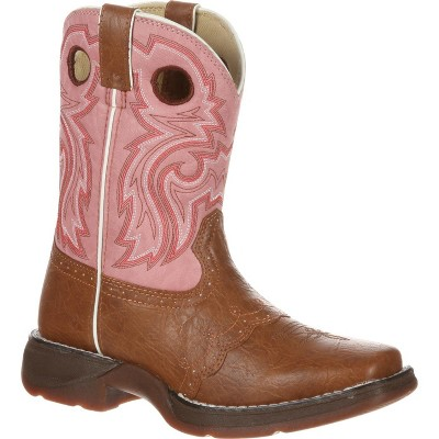 LIL' DURANGO Girls Little Kid Tan Lacey Western Boot