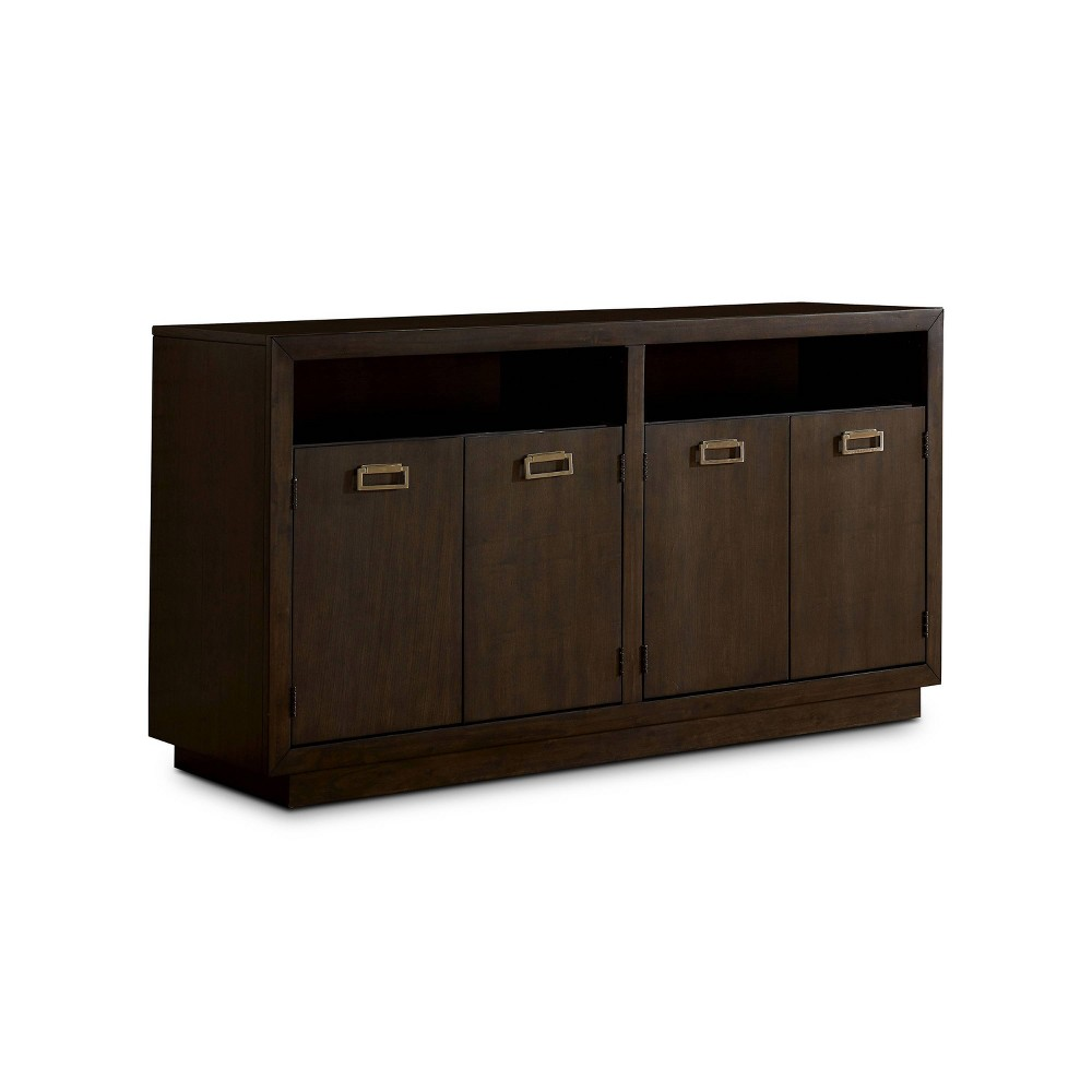 Cheap Terraview Cabinet Storage Server Dark Walnut - HOMES: Inside + Out