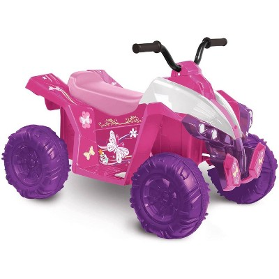 Kid Motorz 12V Monster Quad Powered Ride-On - Pink