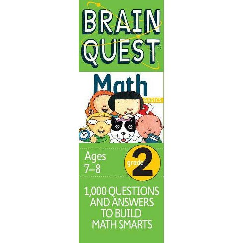 Brain Quest Math Basics Grade 2 by Marjorie  Martinelli - image 1 of 1