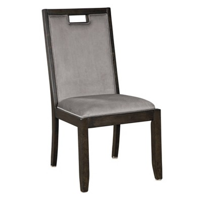 Set of 2 Hyndell Dining Room Chair Dark Brown - Signature Design by Ashley