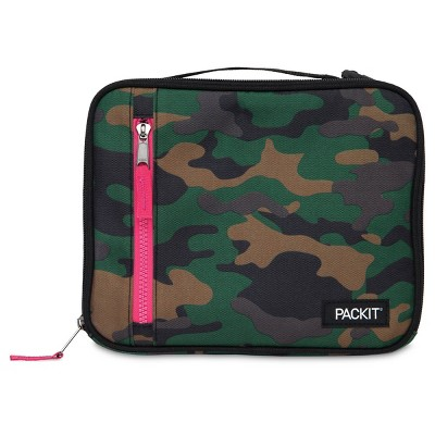 Packit Freezable Classic Lunch Box - Camo Hot Pink