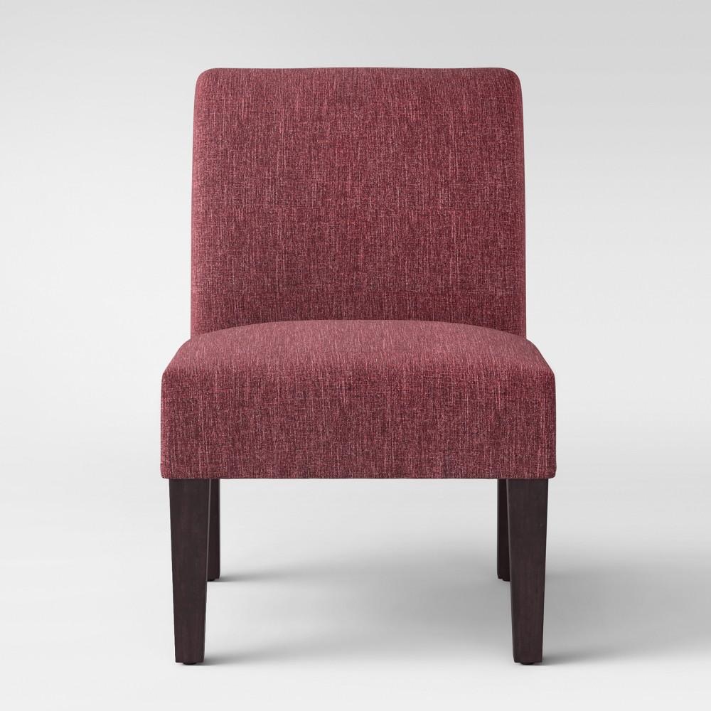 Quincy Basic Slipper Chair Wave Dark Red - Threshold