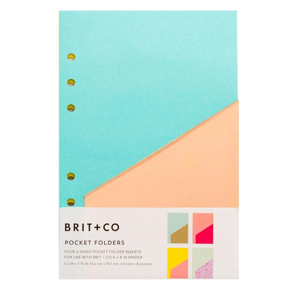 Brit + Co Pocket Folders Insert