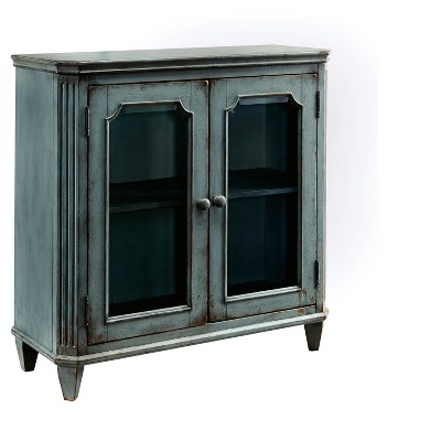 Accent Storage Cabinet Turquoise - Signature Design by Ashley
