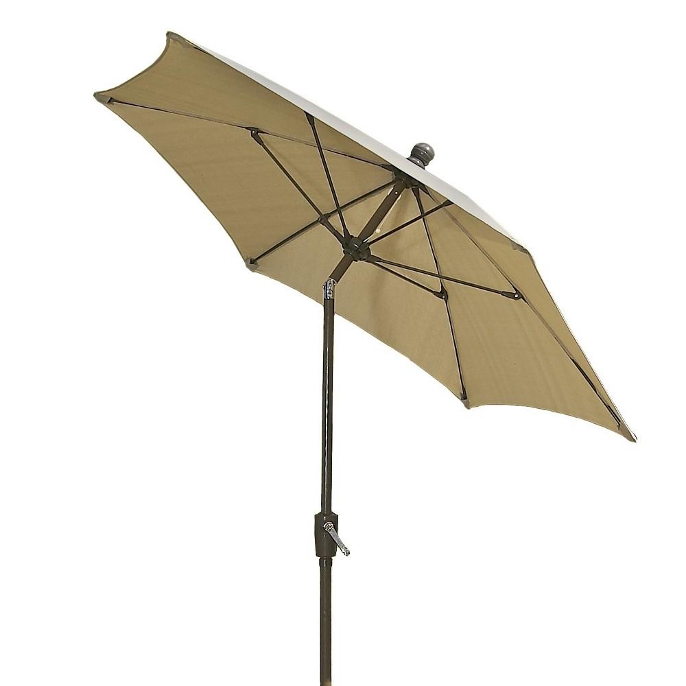 Image of FiberBuilt 7.5' Patio Umbrella Antique Beige