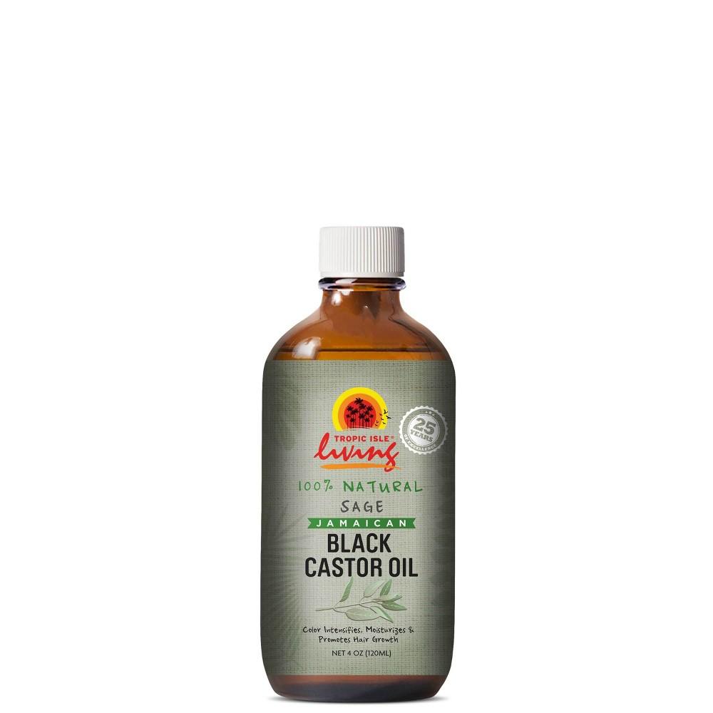 Image of Tropic Isle Living Jamaican Black Caster Body Oil Sage - 4 fl oz