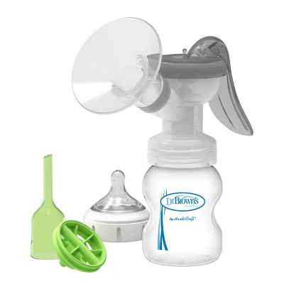 Dr. Brown's Manual Breast Pump with Silicone Shields