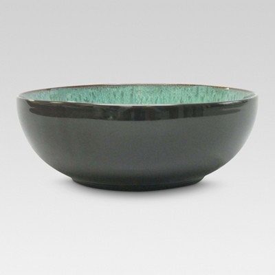 Belmont Serving Bowl Stoneware Green 104oz - Threshold™