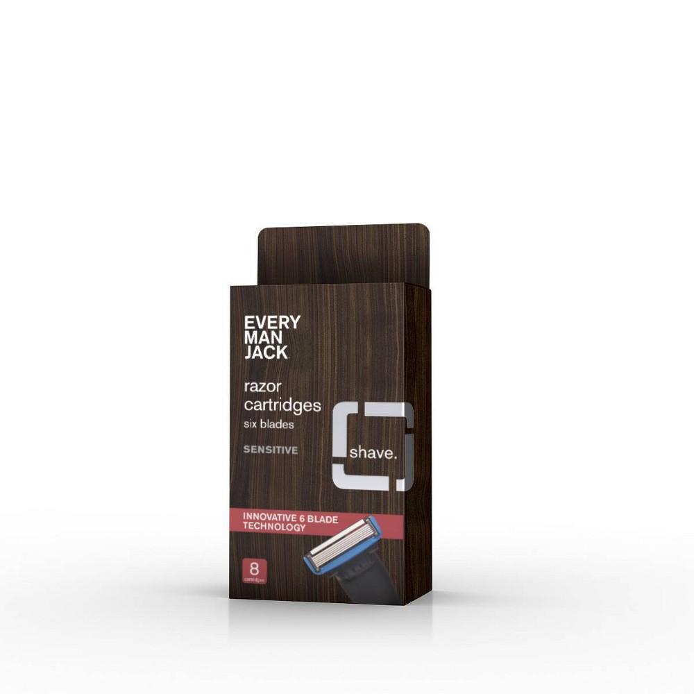 Image of Every Man Jackor 6 Blade Sensitive Cartridges - 8ct
