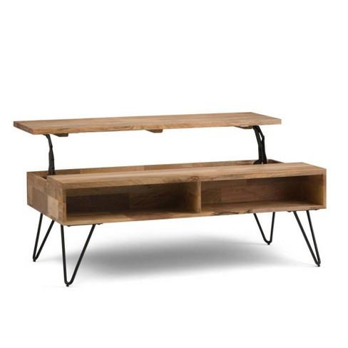 "48"" Moreno Solid Mango Wood Coffee Table - WyndenHall - image 1 of 4"