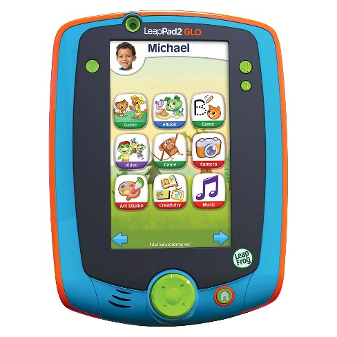LeapFrog LeapPad Glo Kids Learning Tablet, Teal - image 1 of 14