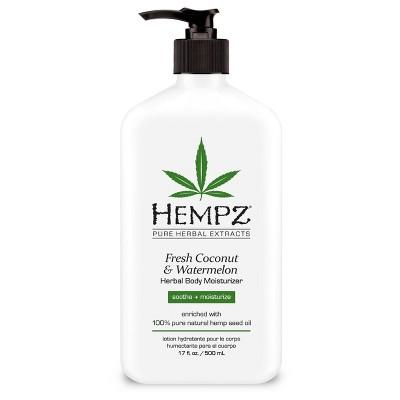 Hempz Fresh Coconut/Watermelon Moisturizer - 17oz