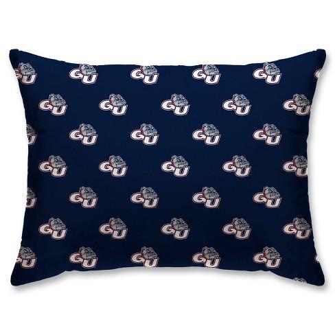 NCAA Gonzaga Bulldogs Super Plush Repeat Logo Bed Pillow - image 1 of 1