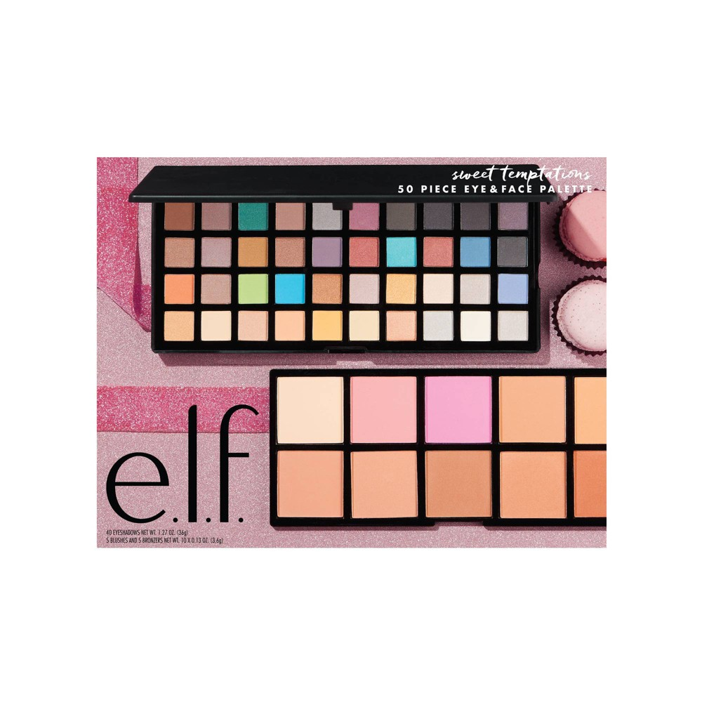 Image of e.l.f. Sweet Temptations Eye & Face Palette - 50 Shades