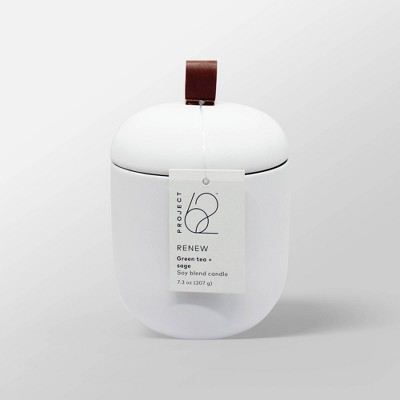 7.3oz Lidded Matte Jar Candle Renew - Project 62™