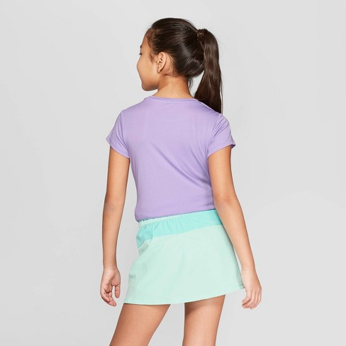 70bf51af Girls' Strength Heart Power Shine Graphic Tech T-Shirt - C9 Champion® Light  Purple