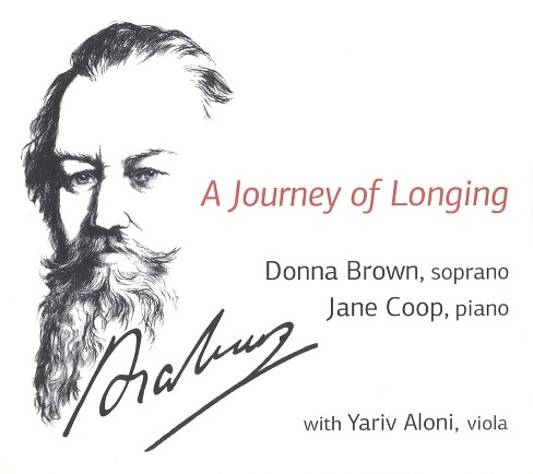Donna brown - Brahms:Journey of longing (CD) - image 1 of 1