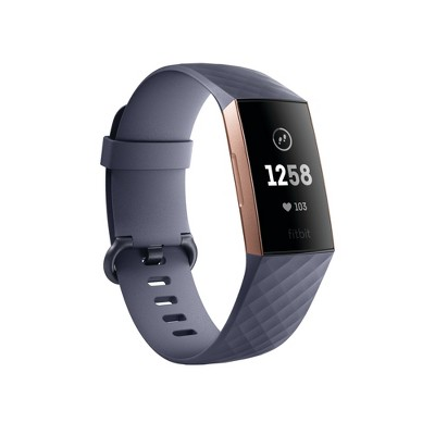 Fitbit Charge 3 Fitness Tracker - Rose Gold/Gray