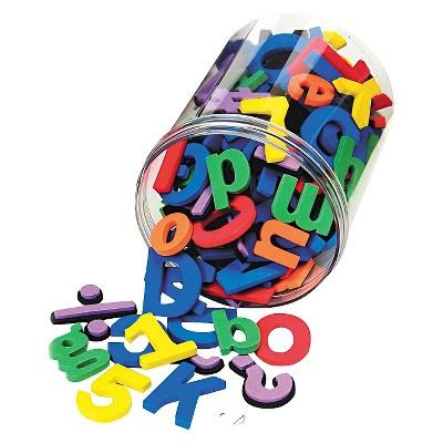 Chenille Kraft® Wonderfoam Magnetic Alphabet Letters, Assorted Colors. 105/Pack