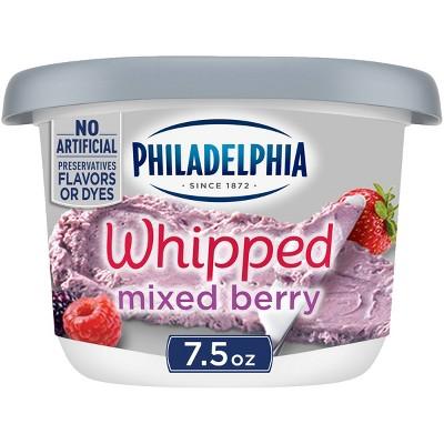 Philadelphia Whipped Mixed Berry Cream Cheese Spread - 7.5oz
