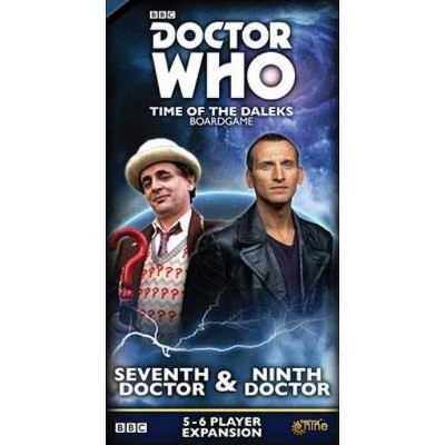 Seventh & Ninth Doctor Expansion Board Game