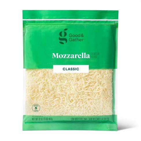 Shredded Mozzarella Cheese - 32oz - Good & Gather™ - image 1 of 2
