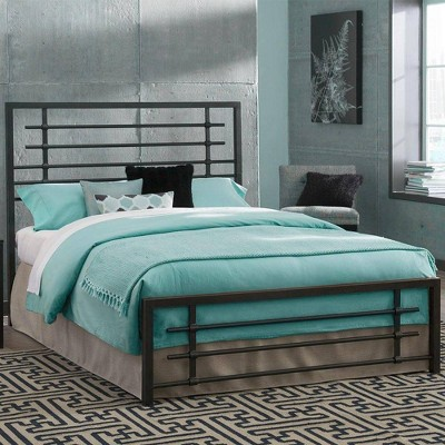 eLuxury Carbon Steel Metal Bed Frame