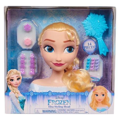 Disney Princess Elsa Frozen Styling Head - image 1 of 3