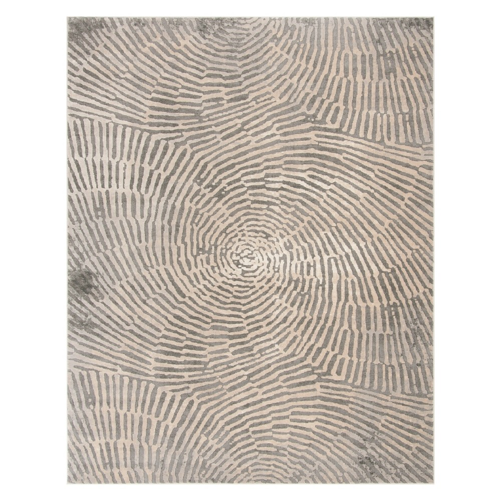 8'X10' Shapes Area Rug Taupe - Safavieh, Gray