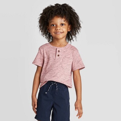 Toddler Boys' Hanley T-Shirt - Cat & Jack™ Pink 12M