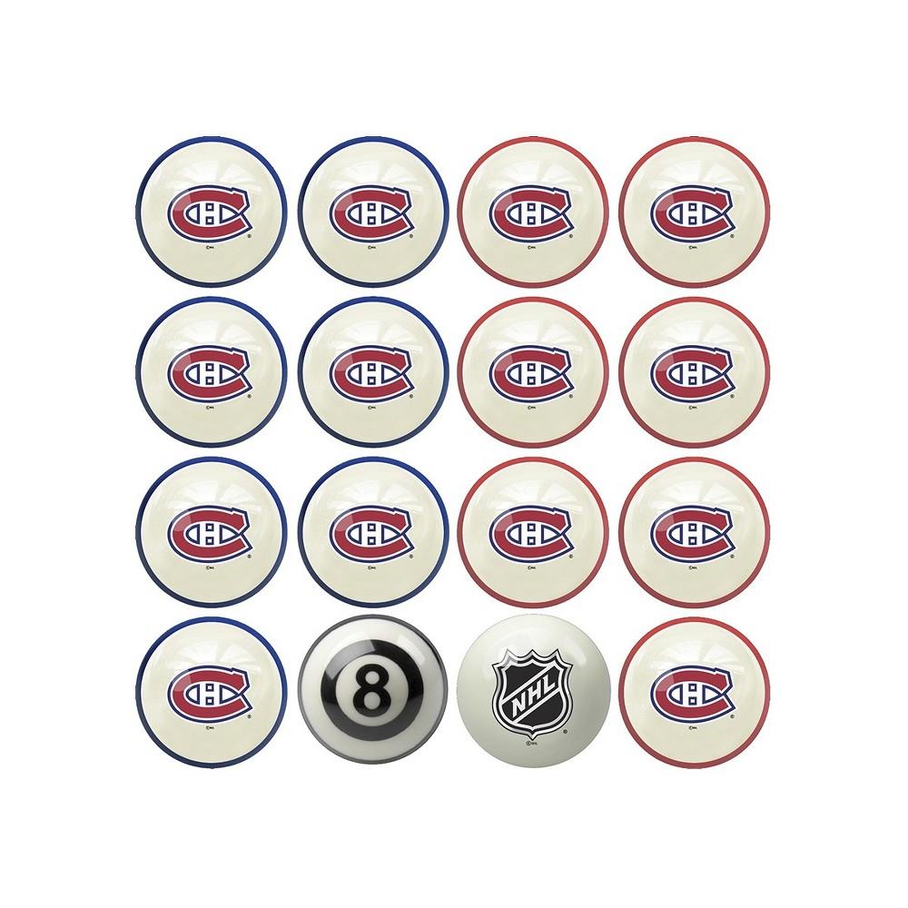 NHL Montreal Canadiens Home & Away Billiard Ball Set