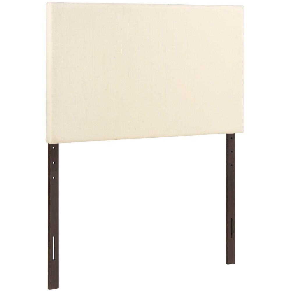 Region Twin Upholstered Headboard Ivory - Modway